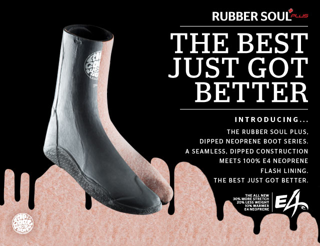Rubber Souls Plus - Introducing The Rubber Soul Plus, dipped neoprene boot series. A seamless, dipped construction meets 100% E4 Neoprene Flash Lining. The Best Just Got Better.