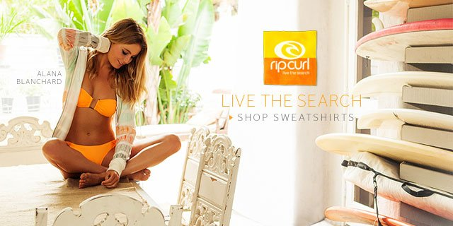 Rip Curl - Alana Blanchard - Shop Holiday Sweaters
