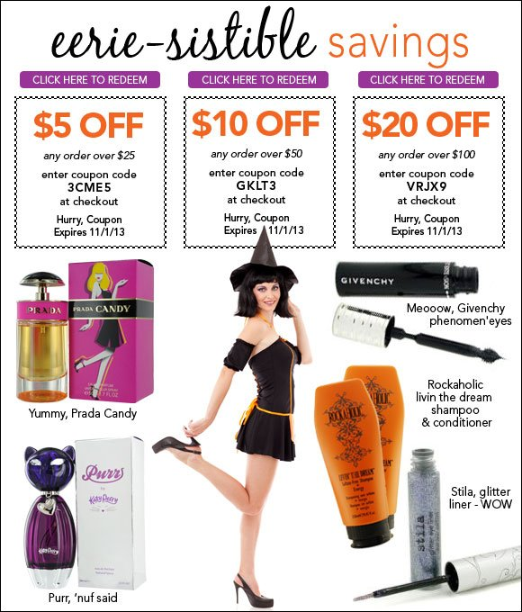 Eerie-sistible Savings - Up to $20 Off*
