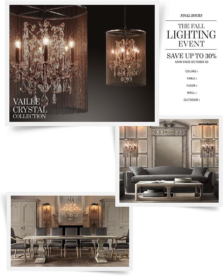 Final Hours - The Fall Lighting Event - Save up to 30%.