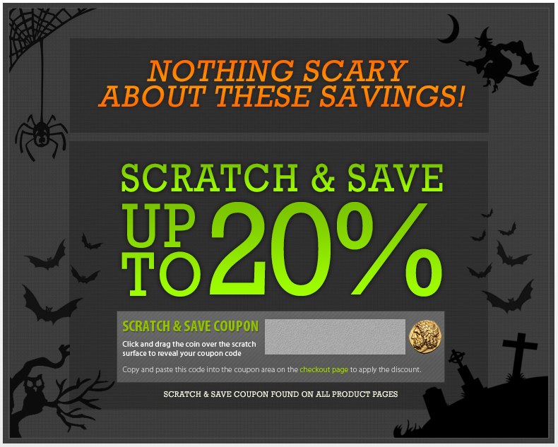 Scratch & Save Up To 20%