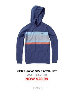 Kershaw Sweatshirt - was $42.00 - now $28.99
