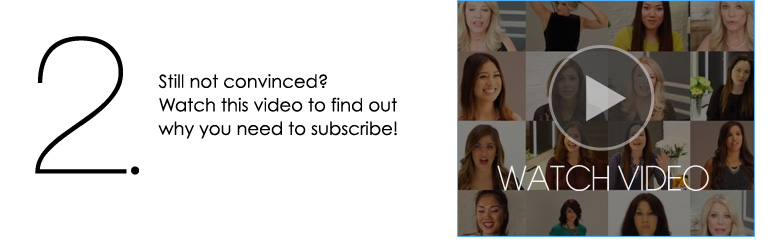 2. Still not convinced? Watch this video to find out why you need to subscribe!