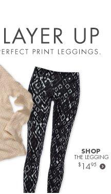 Shop the Print Legging