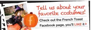 Tell us about your favorite costumes on Facebook!