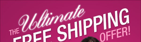 Free shipping with Urbane Ultimate