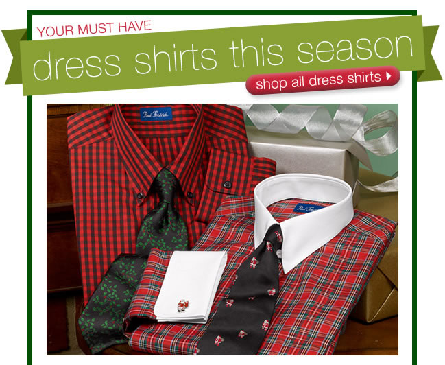Your Must Have Dress Shirts This Season: Shop All Dress Shirts