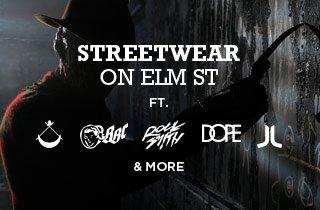 Streetwear on Elm's Street