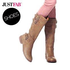 JustFab Footwear starting at $25