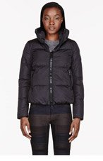 MONCLER Black quilted Chery jacket for women
