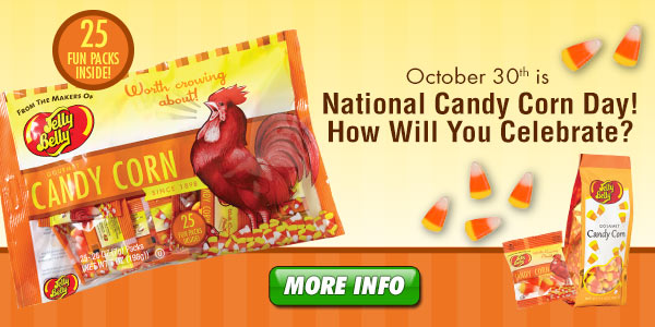 October 30th is National Candy Corn Day!