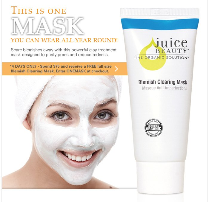 This is one MASK you can wear all year round!