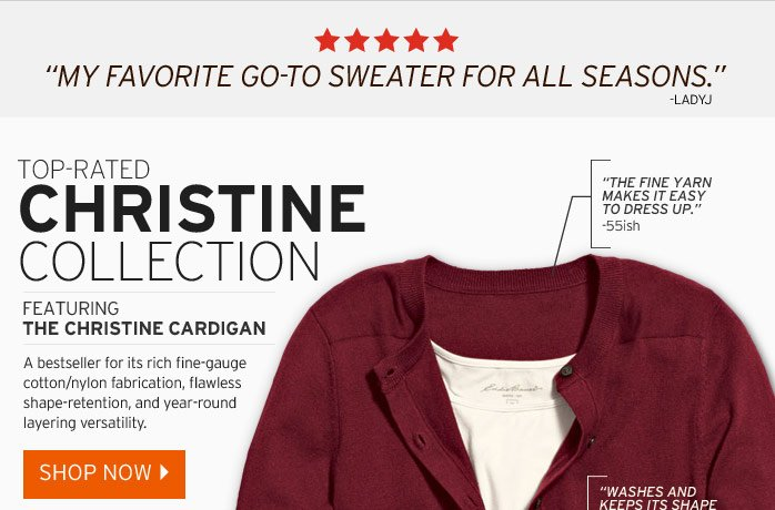 Shop The Christine Cardigan Sweater