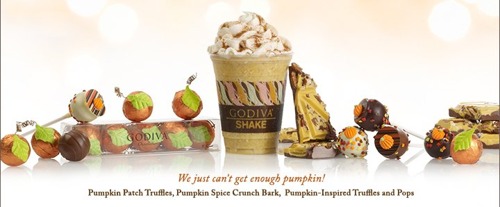 We just can't get enough Pumpkin!