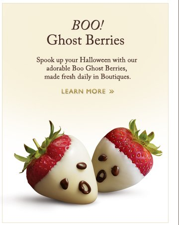 Boo! Ghost Berries