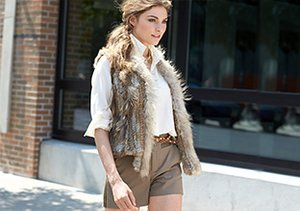 Fur for Fall: Jackets & Vests