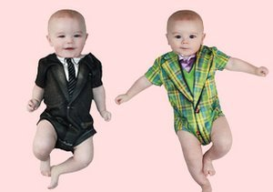 Faux Real: Duds for Boy & Baby