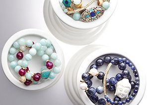 East Meets West: Jewelry