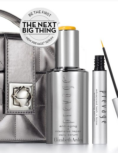 BE THE FIRST. THE NEXT BIG THING. NEW PREVAGE® SERUM. Meet our 2 best-selling age fighting face and eye serums that deliver immediate results and keep working over time to deliver younger looking skin and longer, fuller looking lashes.