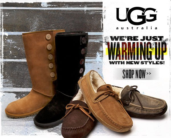 Just Warming Up with New UGG(R) Styles