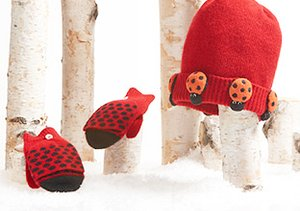 Winter Prep: Kids' Hats, Gloves & Scarves