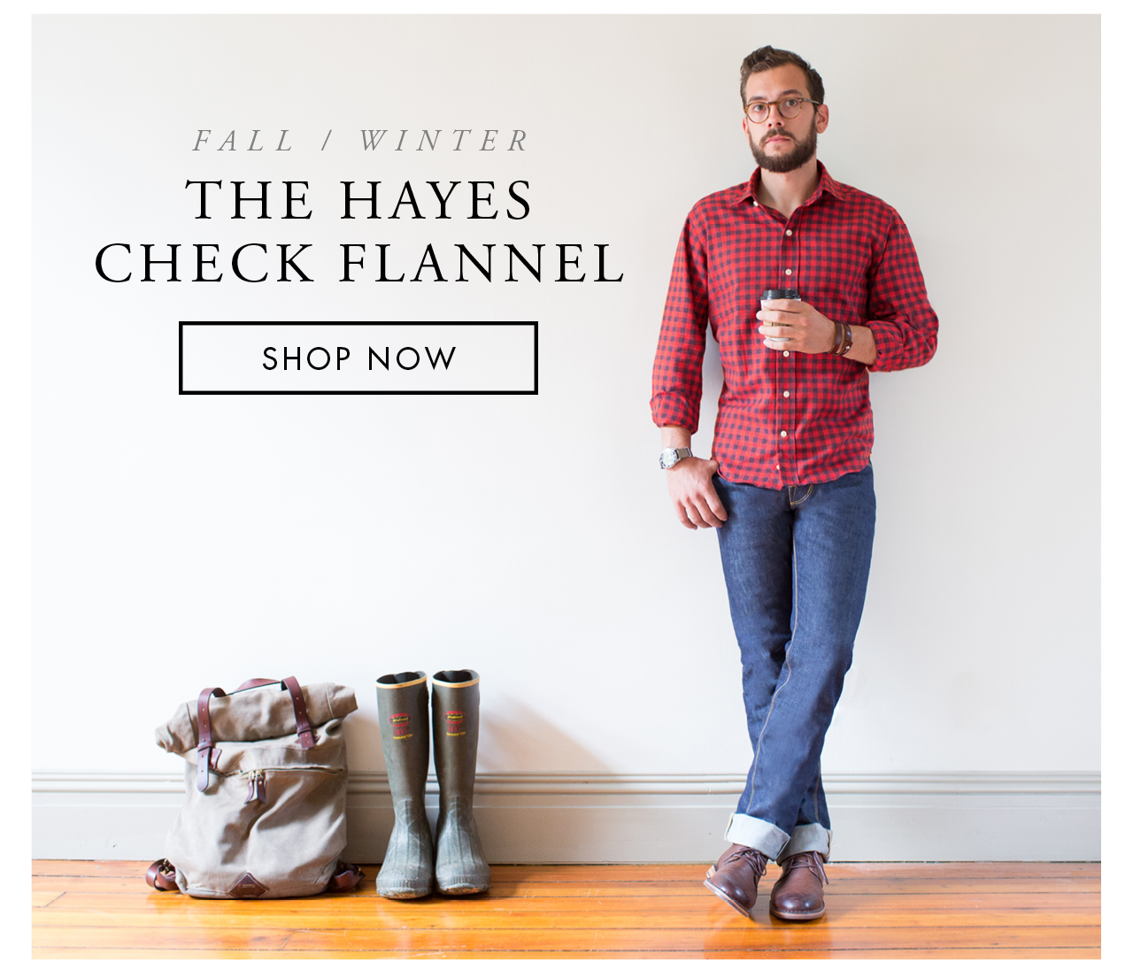 The Hayes Check Flannel
