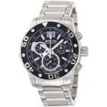 Invicta 0760 Men's Reserve Ocean Speedway Black Big Date Dial Steel Bracelet Chronograph Watch