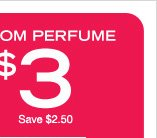 In Stores Only: $3 Room Perfume