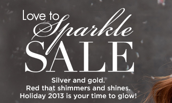 Shop the Love to Sparkle Sale!