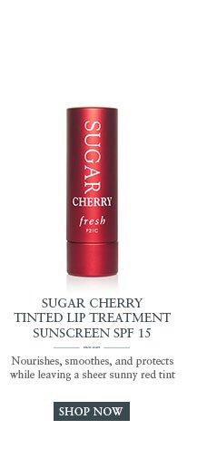 SUGAR CHERRY TINTED LIP TREATMENT Sunscreen SPF 15