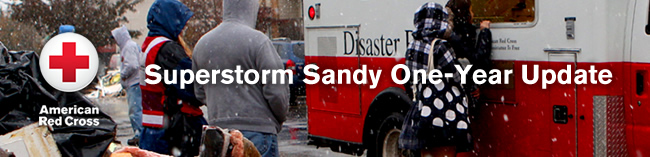 American Red Cross: Superstorm Sandy - One Year Update