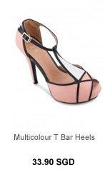EZRA Multicolour T Bar Heels