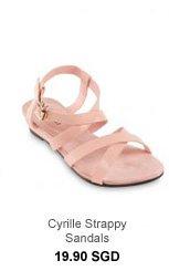 VELVET Cyrille Strappy Sandals