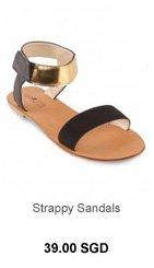 HEARTTHROB Strappy Sandals
