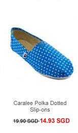 WOO! Caralee Polka Dotted Slip-ons