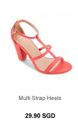EZRA Multi Strap Heels