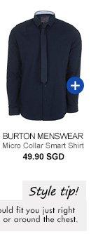 Burton Micro Collar Smart Shirt