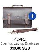 Picard Cosmos Laptop Briefcase