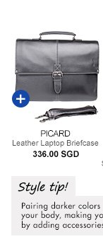 Picard Leather Briefcase