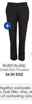 River Island Smart Slim Trousers