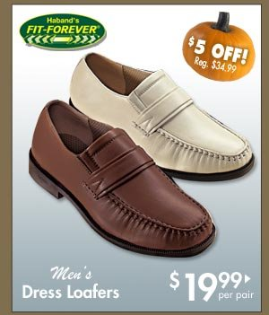 Dress Loafers $19.99 per pair