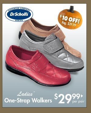 One-Strap Walkers $29.99 per pair
