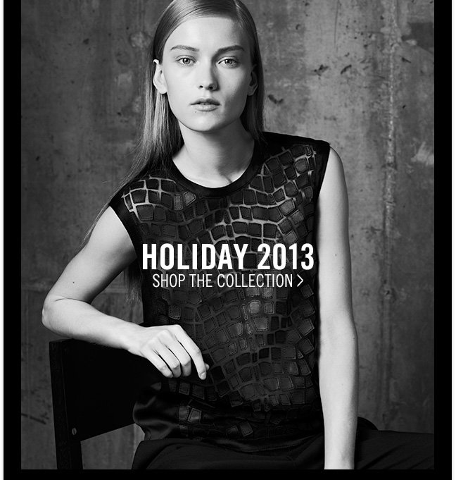 HOLIDAY 2013 - shop THE COLLECTION >
