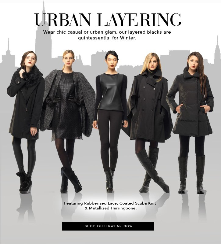 Urban layering - Shop Outerwear