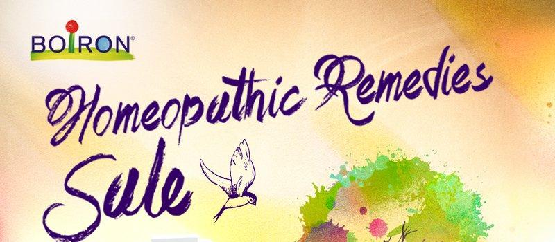 Boiron Homeopathic Remedies Sale