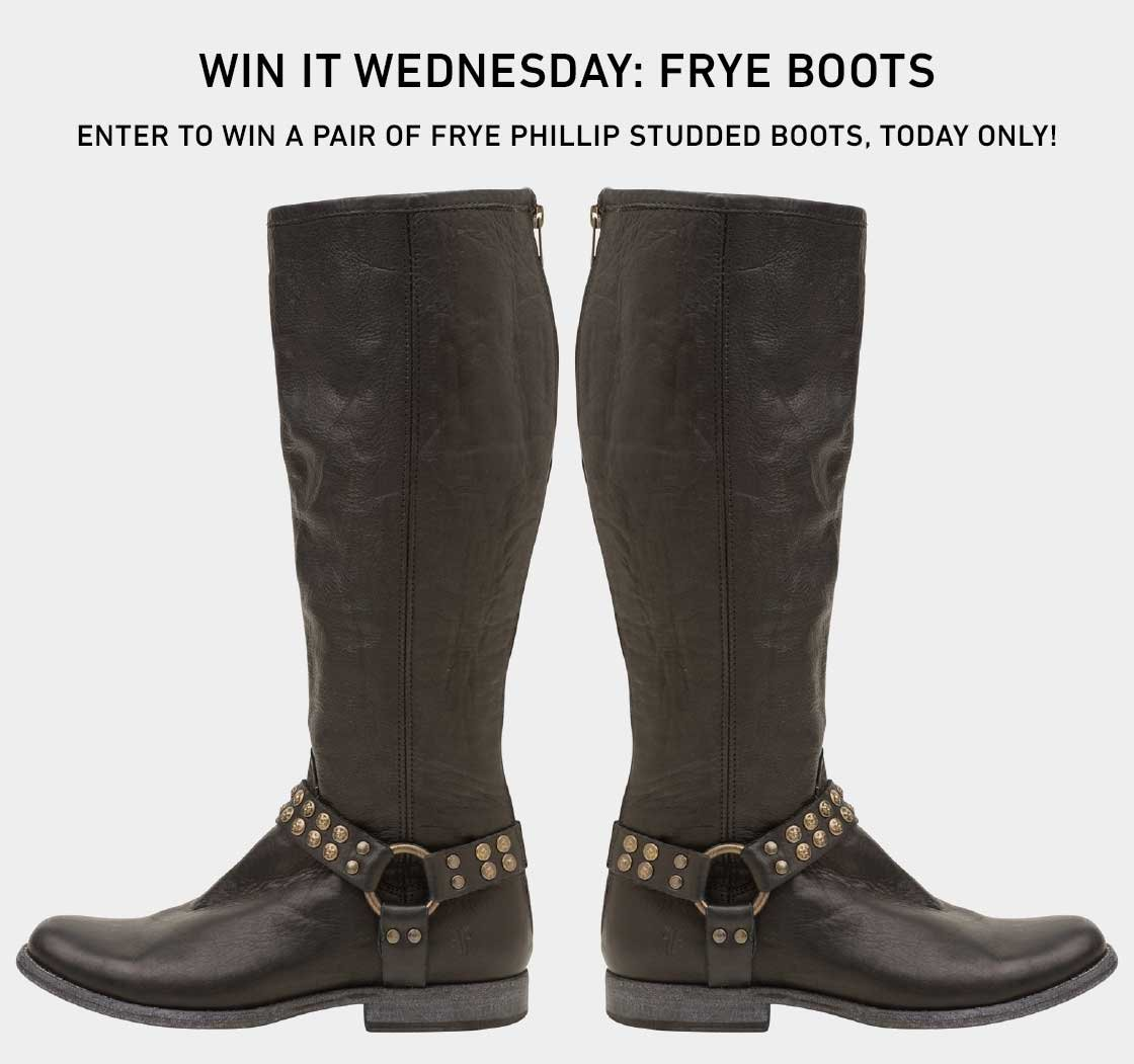 Win A Pair of Frye Boots