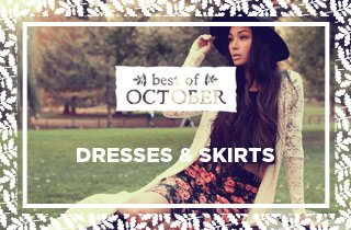 Best of October: Dresses & Skirts