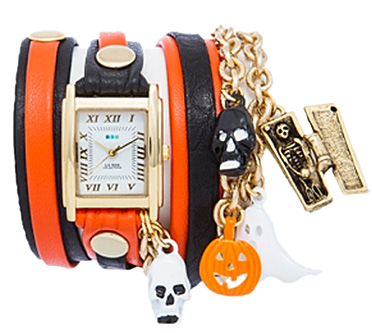 Halloween Charms Wrap Watch