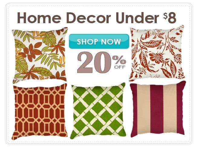 20% Off Home Decor Fabrics Under $8