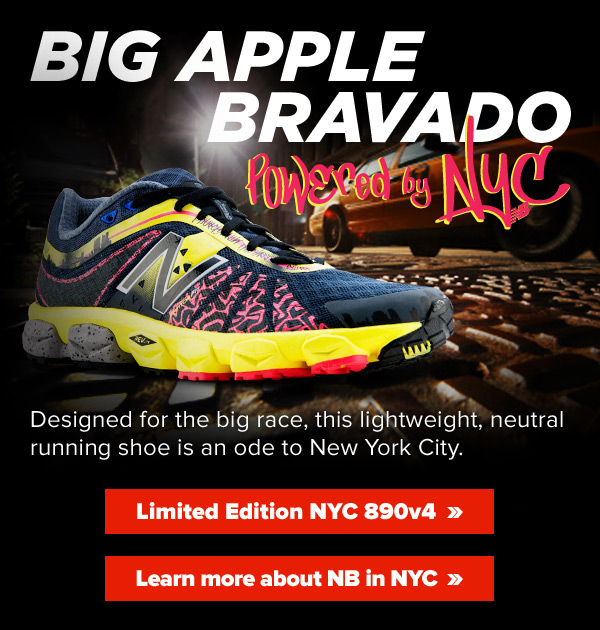Limited Edition NYC 890v4. Powered by NYC.